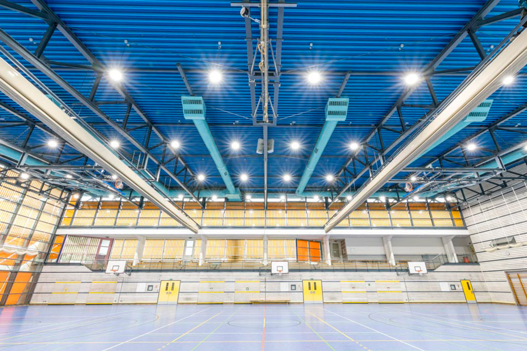 LED Technik der Eissporthalle Diez